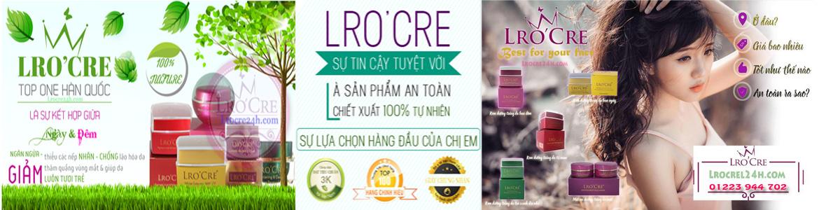 Lro'cre - thương hiệu hàng đầu Việt Nam với các sản phẩm Uy tín – Chất lượng – An toàn