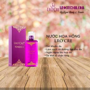 TONER C+ (Nước hoa hồng Lro'Cre) 1