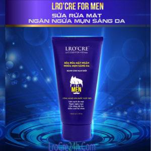 Sữa rửa mặt Lro'cre For Men