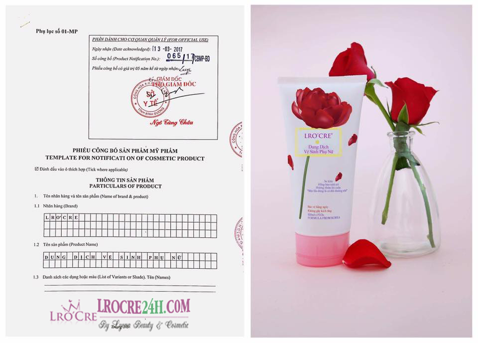 LRO'CRE CARE (Dung Dịch Vệ Sinh Phụ Nữ)