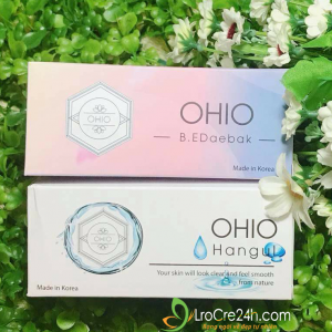 Combo ủ mụn - serum ohio
